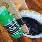 Ti King Cage on Wishbone Balance Bike w/Twofish Mount