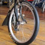 Schwalbe Kojak on Brompton Folding Bicycle