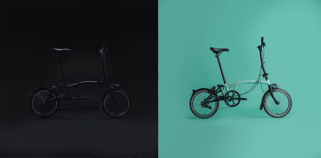 Brompton 2017 and 2018 Black Edition bikes