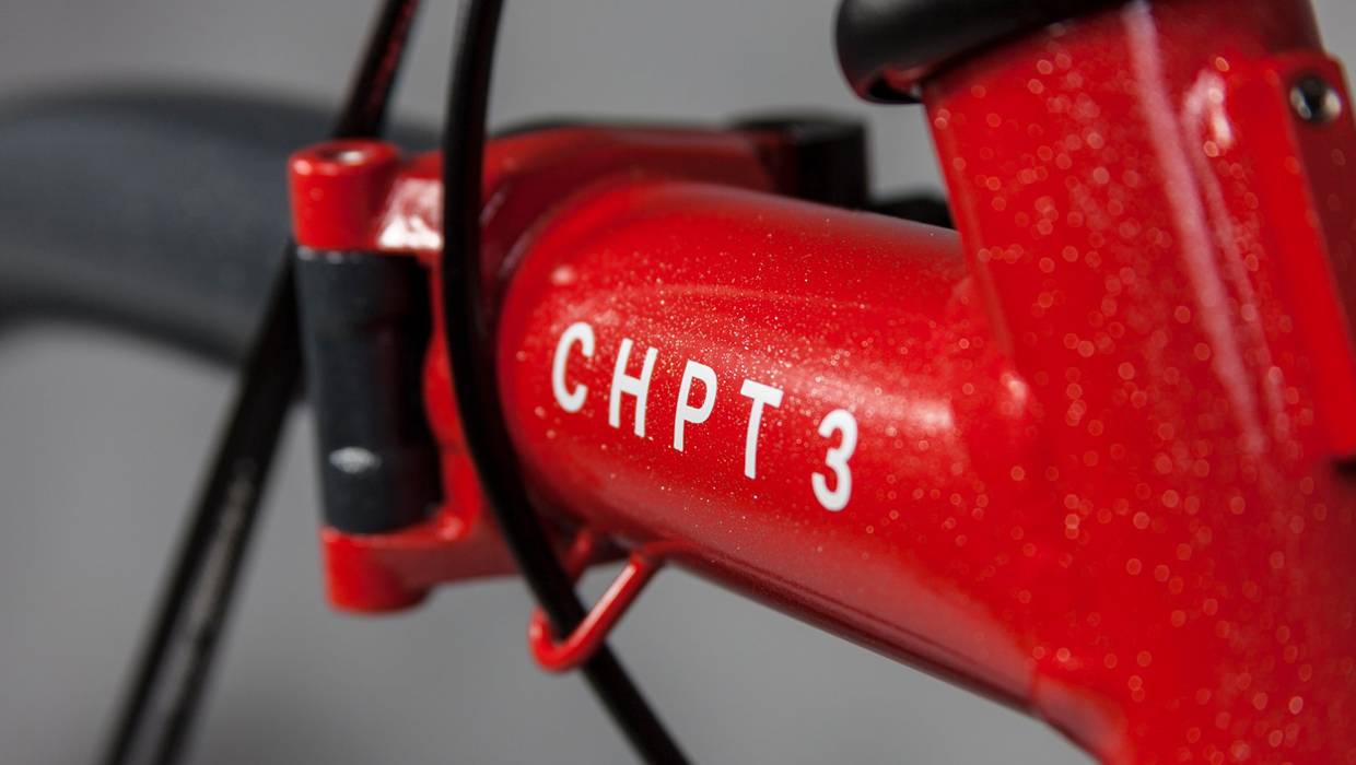 Brompton x CHPT3 collaboration with David Millar, detail
