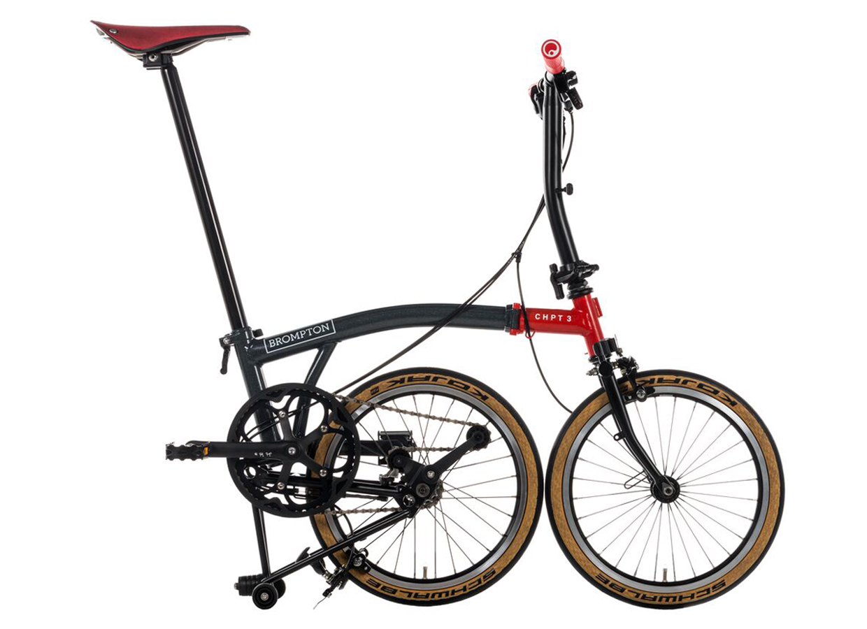 Brompton x CHPT3 collaboration with David Millar