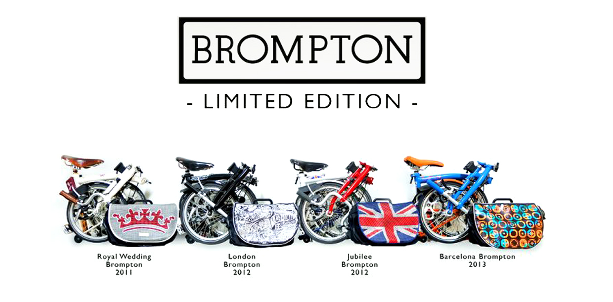 Early Brompton Limited Edition Bikes