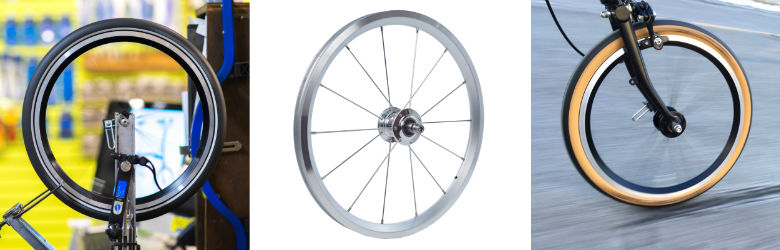 Perennial Cycle Pro Wheels for Brompton