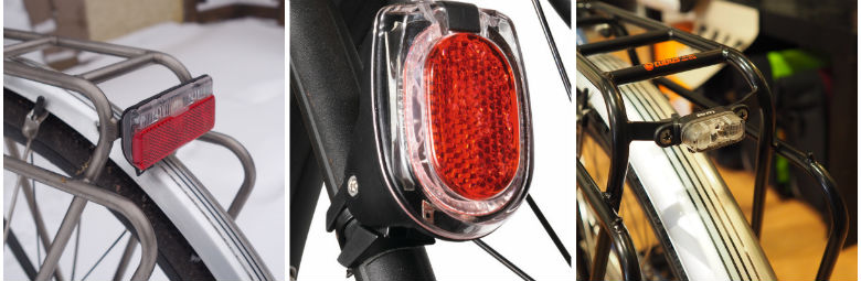 Dynamo Powered Rear Lights